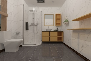 现代卫浴柜01